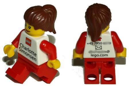 Lego Visitenkarte