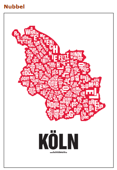 Buchstabenort: Köln