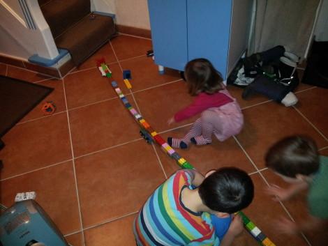 Lego-Schlangen