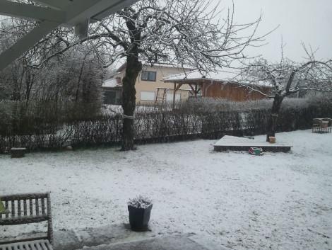 noch einmal Schnee